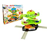 MEDIA WAVE store Playset parcheggio Auto multilivello 102303 con Ascensore elicotteri ed Auto