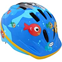 Schwinn Fish Toddler Bike Helmet for Cycling, Scooting or Skating, Blue, Medium (Age 3+)