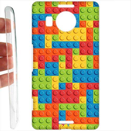 Tuttoinunclick custodia cover rigida per microsoft nokia lumia 950 xl - 691 lego