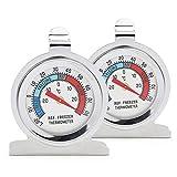 Color You Thermomètre de congélateur pour réfrigérateur, 2 pièces, thermomètre...