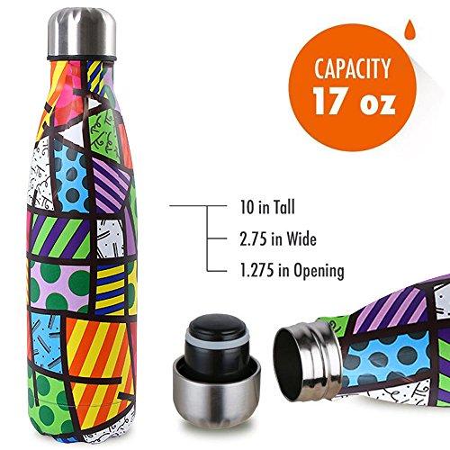 Zoom IMG-3 bottiglia con doppio strato in