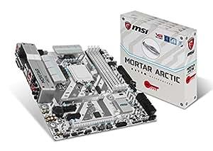 MSI H270M Mortar Arctic Scheda Madre, Formato uATX, Chipset Kabylake, Grigio