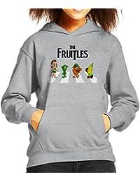 The Fruitles Abbey Road Frutties Beatles Kid's Hooded Sweatshirt