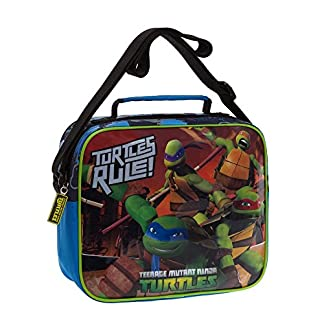 Tortugas Ninja Neceser de Viaje, 4.75 litros, Color Azul