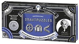 Moses. Verlag GmbH 92099Albert Einstein E = MC² Alambre Puzzles | Professor Puzzle Paciencia Juego de Metal | 3tareas en un Juego, Multicolor