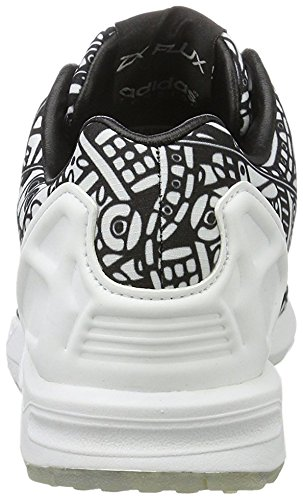 ... adidas ZX Flux, Sneaker Unisex - Adulto Bianco/Nero ...