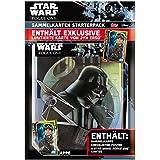 Topps D105819-DE - Star Wars Rogue One Sammelkarten Starterpack, Sammelmappe, Checkliste, 5 Karten und 1 limitierte Karte