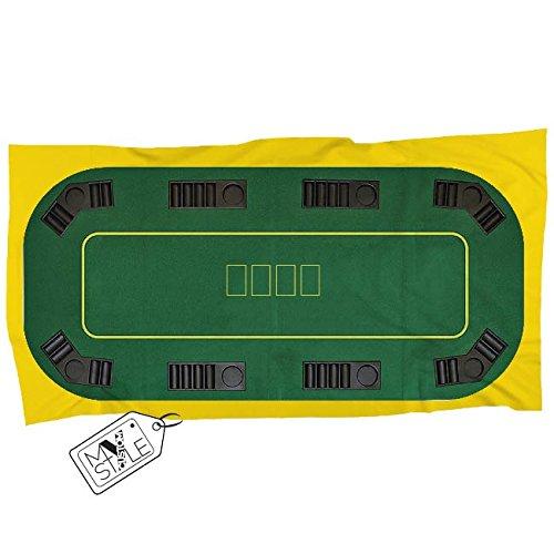 My Custom Style® Handtuch aus Mikrofaser #Poker 160x80cm