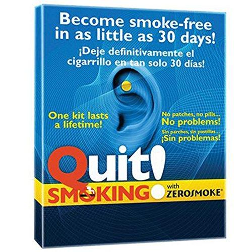 Yiwa 2 Stück Stop Rauchen Magnete Anti Smoke Patch Auricular Therapie Magnet Quit Rauchen - Ohr Therapie