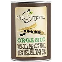 Mr Organic Frijoles Negros 400g (Paquete de 6)
