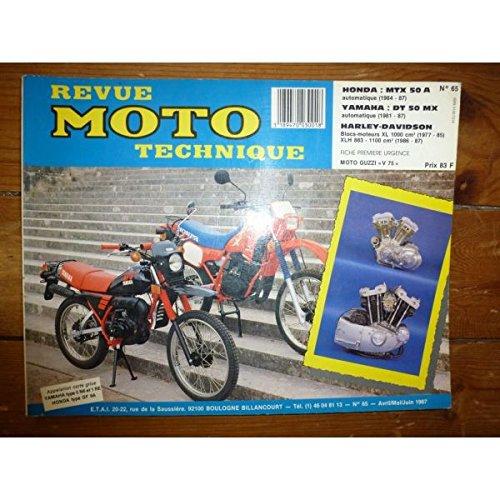 Rmt- Revues Techniques Moto - MTX50 DTMX50 XL1000 Revue Technique moto Harley Davidson Honda Yamaha