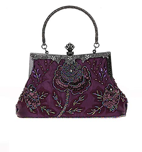 Damen Handgemachte Perle Handtasche, Abendtasche Damen Clutch Für Party, Hochzeit