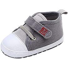 Zapatos Bebé Niño Niña, LANSKIRT Impresión de Dibujos Animados Algodón Suela de Goma Antideslizante Zapatos