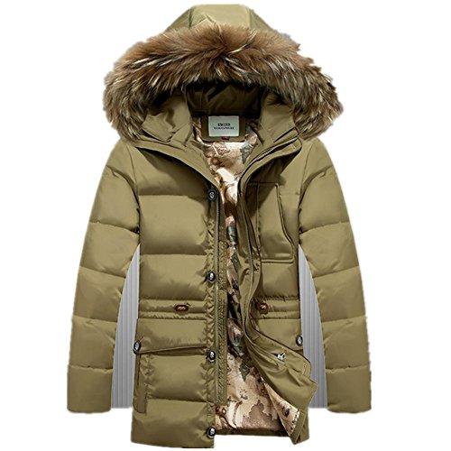 Inverno Nuovo stile lungo di lana Padded