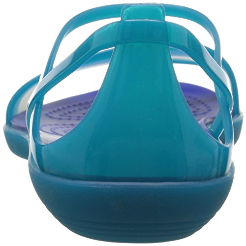 Crocs Isabella, Sandali Infradito Donna Blu/Turchese/Ceruleo (Turquoise/Cerulean/Blue)