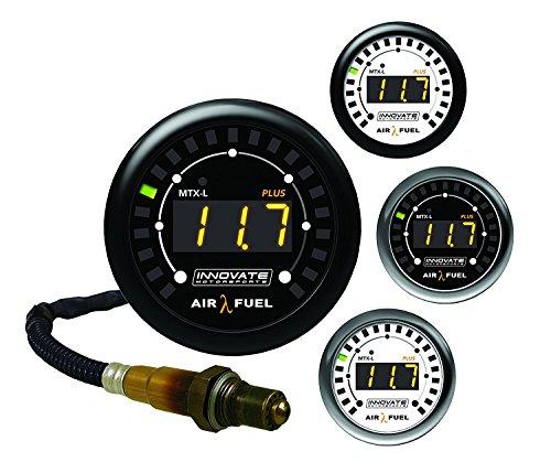 Innovate 3918 MTX-L Plus, Digitaler Breitband-Luft/Kraftstoff-Verhältnis-Messer, Set, schwarz