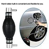 KKmoon 8mm Kraftstoff Bulb Hand Pumpe Benzin und Diesel-Inline-Filter für Auto Marine Boot
