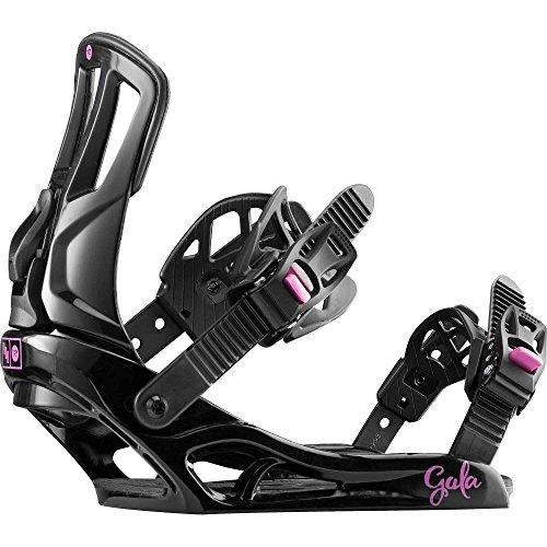 Rossignol Gala Snowboard-Bindungen Damen, schwarz/pink