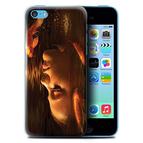 Officiel Elena Dudina Coque / Etui pour Apple iPhone 5C / Sous-Marin Design / Agua de Vida Collection Poissons d'Or