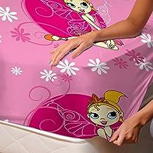 Minnie - SoulBedroom 100% Algodón Sábana bajera / 150 x 200 x 30 cm