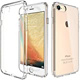"Coque iPhone 7 Plus ( 5,5 pouces) , Etui Ultra Mince Housse Silicone Transparent pour iPhone 7 Coque de Protection en TPU avec Absorption de Choc Bumper et Anti-Scratch iPhone 7 Plus (5.5"") [Stylet + 3 Films inclus]"