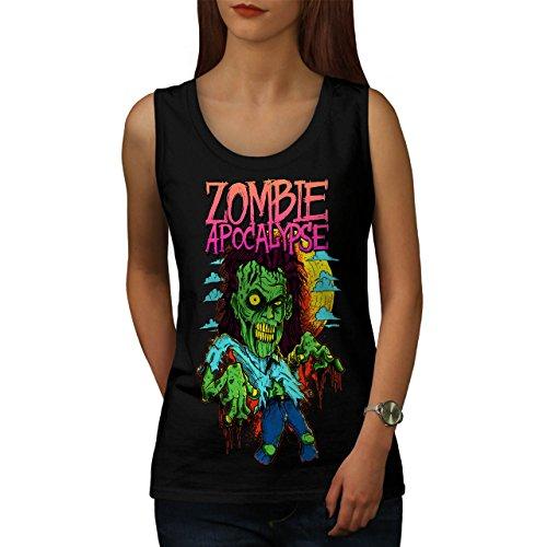 Zombie Apokalypse Horror Damen M Muskelshirt | (Apokalypse Zombie Asyl)