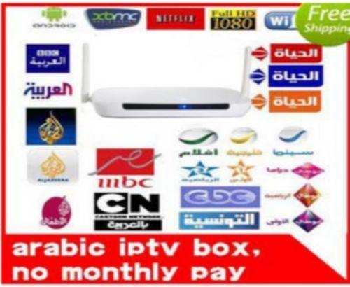 Smart Arabic IPTV Box, 350Plus IPTV HD Arabic Channels, nicht Subscription *, [UK Import]