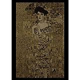MG-N Arazzi Tapestry (Adele Di Gustav Klimt) Arazzo Fatto A Mano Per Soggiorno Cucina Camera Da Letto