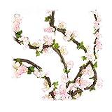 Las flores artificiales de Li Hua Cat tienen un aspecto muy realista, no hay diferencia en cuanto a los colores.Duran para siempre, no hay necesidad de mantenerlas como a flores reales.La flor es muy flexible y no se rompe fácilmente, puedes ...