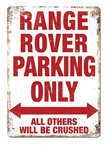 Sary buri Range Rover Parking Only Vintage Metal Cartel De Chapa Placa Arte De La Pared Adecuado para Garaje Club Bar Cafe Pintura Decoración