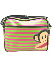 b830a1a7f7 Paul Frank Julius the Monkey Design Messenger Shoulder School Travel Bag -  Range of Designs Available