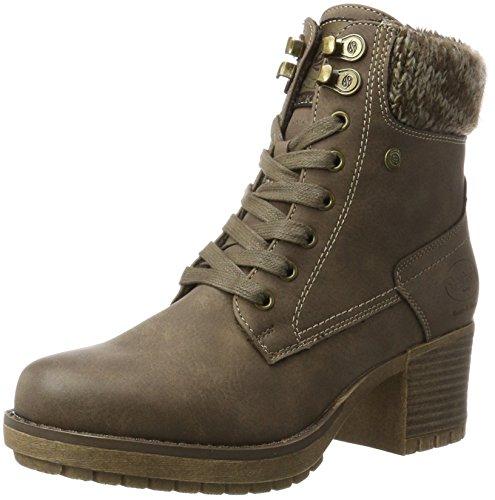 Dockers by Gerli Damen 41CH304-630300 Cowboy Stiefel, Braun (Braun), 41 EU (Sneaker Cowboy Stiefel)