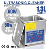 BuoQua 1.3L Pulitore Ad Ultrasuoni Display Digitale Ultrasuoni Bagno Ultrasuoni Dispositivo Con Timer Digitale 1.3L