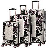 "Aerolite Lightweight Polycarbonate Hard Shell 4 Wheel 3 Piece Luggage Suitcase Set, 21"""