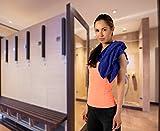 POWRX Mikrofaser Reise- / Sporthandtuch Trekking Handtuch Badetuch extra weich Mikrofasertuch Towel versch. Größen - 5