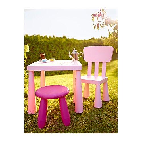 Tavolino E Sedie Ikea Mammut.Ikea Mammut Tavolo Per Bambini Rosa Chiaro Negozio