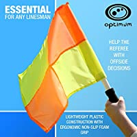 Optimum LFRY Training Linesman Flag Set - Orange/Yellow