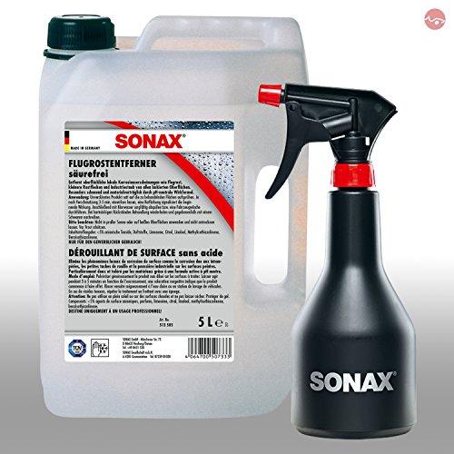 Preisvergleich Produktbild SONAX FlugrostEntferner 5L 05135050 + GRATIS Sprühboy Sprühflasche 04997000