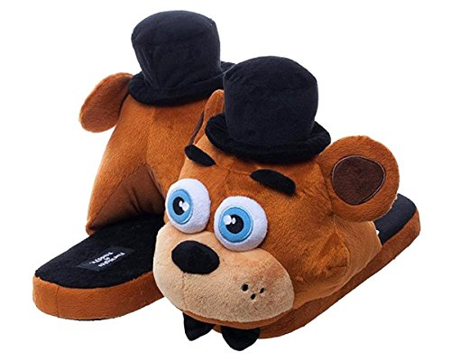 five-nights-at-freddys-freddy-fazbear-slippers-large