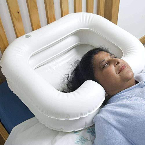 NRS M37297 Bacinella gonfiabile per il lavaggio dei capelli