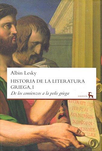 Historia de la literatura Griega (VARIOS GREDOS)