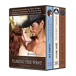 Taming the Wild West, One Fiery Bride at a Time (English Edition) par [Wesley, Dort, Kay, Joannie, Joseph, Laurel]