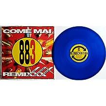 """883 - Max Pezzali: """"Come Mai - Remixxx"""" - Vinile BLU (Limited Edition / Edizione Limitata) (4 Tracks) (LP,Vinyl - 1994)"""