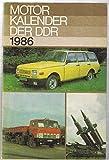 Motorkalender der DDR 1986