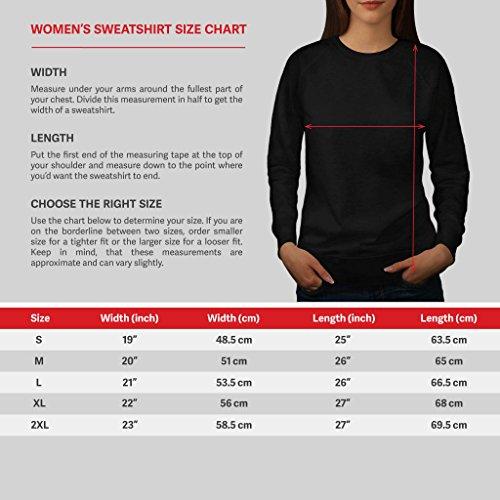 Chinois Nouveau An Entrée Pack Femme NOUVEAU Noir S-2XL Sweat-Shirt | Wellcoda Noir