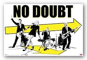 No Doubt - Arrows Art Print Poster