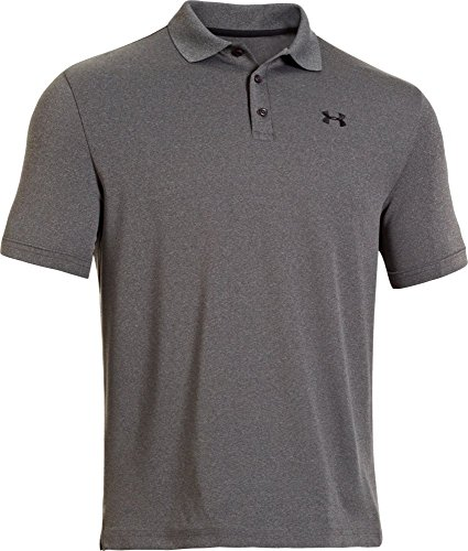 Under Armour Herren Performance Poloshirt, Grau carbon heather, XXL