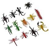 MagiDeal Plastik Tiermodell Figuren Kinder Pädagogische Spielwaren - Insekten