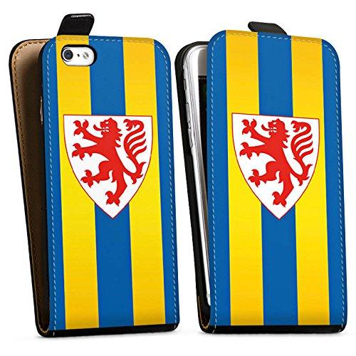 Apple iPhone X Silikon Hülle Case Schutzhülle Eintracht Braunschweig Fanartikel BTSV Downflip Tasche schwarz