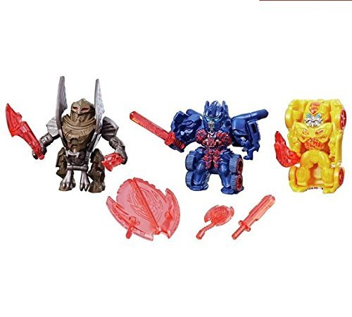 Transformers: Reveal the Shield Tiny Turbo Changers 3-Pack